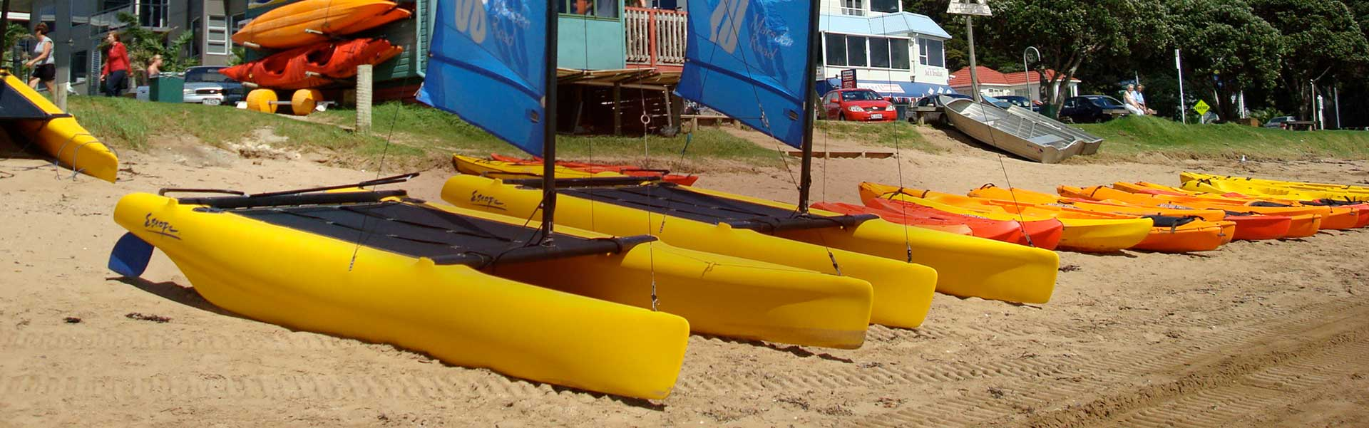 Kayaks Bay Beach Hire